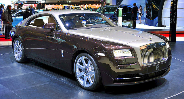 Автомобиль Rolls-Royce Wrath 2013